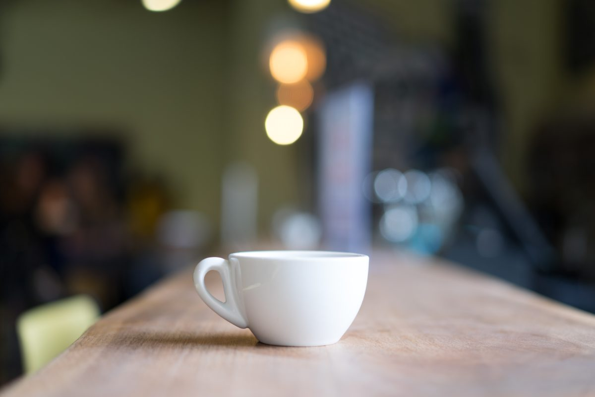Wygodny kubek do kawy